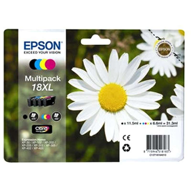 Консуматив - мастилница  Epson Multipack 4-colours 18XL Claria Home Ink