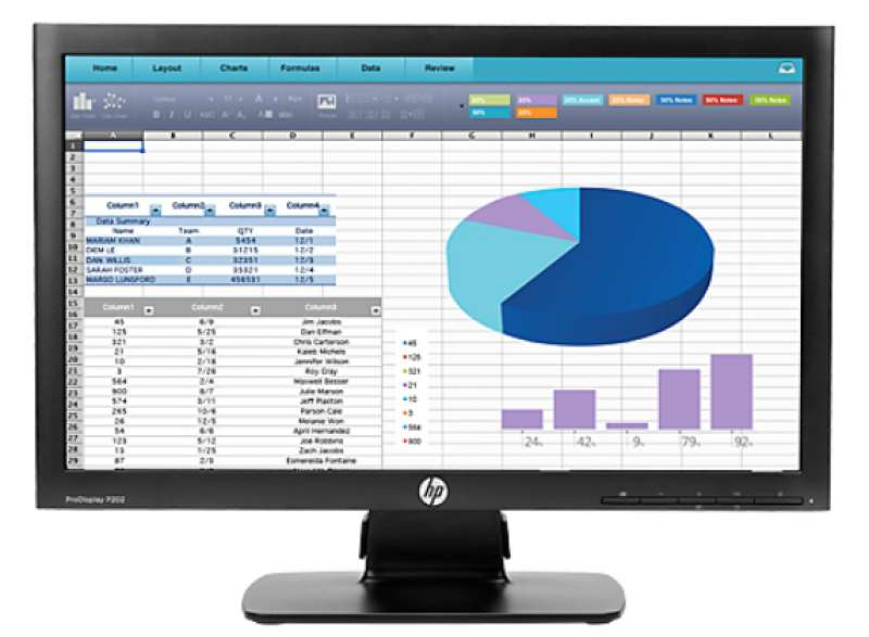 Монитор, HP ProDisplay P202 20-inch Monitor