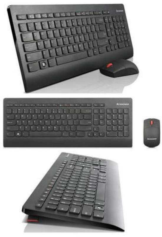 Клавиатура, Lenovo Ultraslim Plus Wireless Keyboard and Mouse
