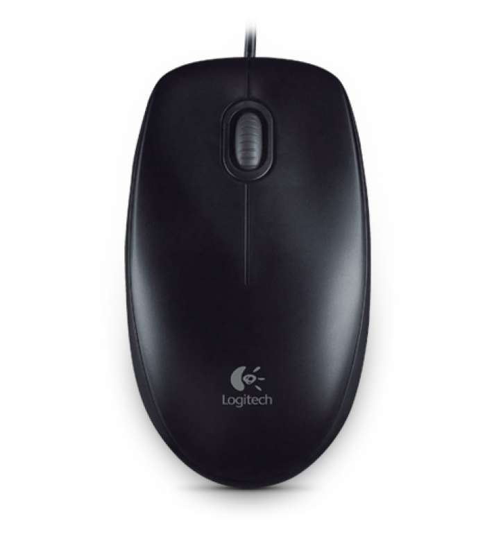 Мишка Logitech B100 Optical Mouse