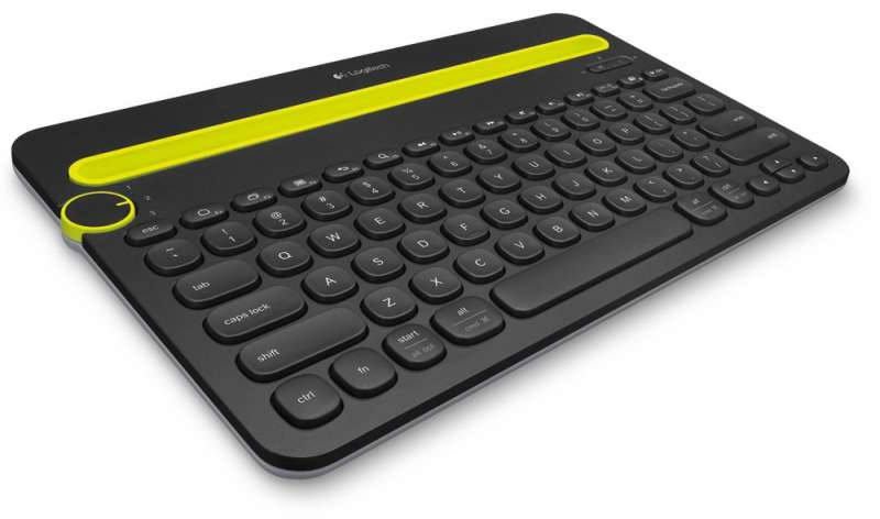 Клавиатура, Logitech Bluetooth Multi-Device Keyboard K480, Black