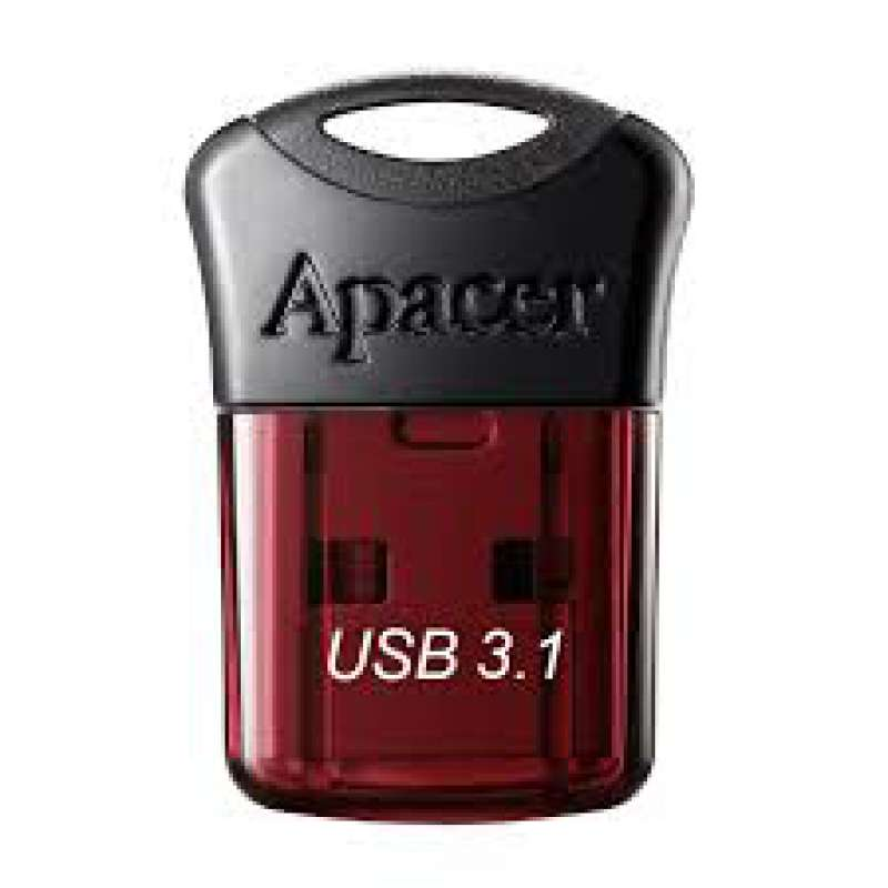 Памет, Apacer 32GB Super-mini Flash Drive AH157 Red - USB 3.0 interface