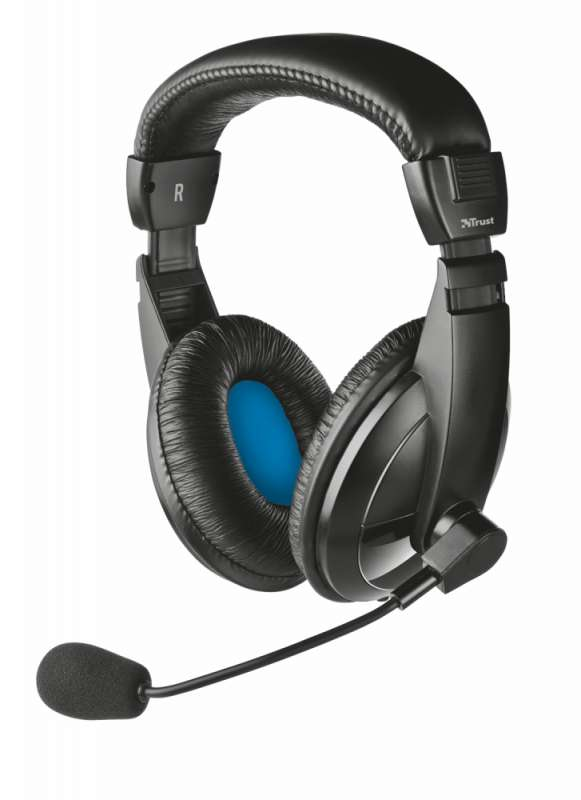 Слушалки, TRUST AHS-330 Headset for PC and laptop