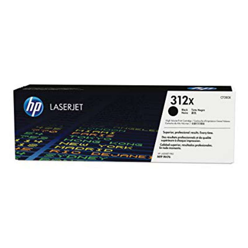 Тонер HP 312X (CF380X) Black High Yield Toner Cartridge for HP Color LaserJet Pro M476