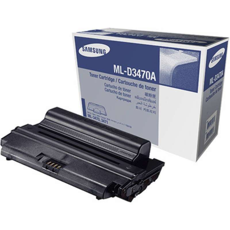 Тонер, Samsung ML-D3470A Black Toner/Standard Yield